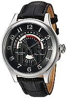 [ルシアン ピカール]Lucien Piccard 腕時計 'The Capital' Quartz Stainless Steel and Leather LP-40050-01 メンズ [並行輸入品]