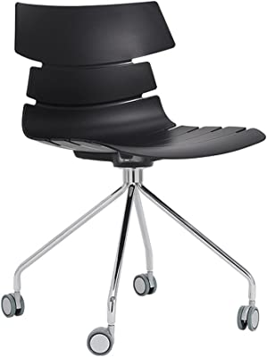 Miraculous Amazon Com Office Star Backless Office Stool With Saddle Caraccident5 Cool Chair Designs And Ideas Caraccident5Info