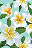 Password Book: Include Alphabetical Index With Plumeria Flowers Background