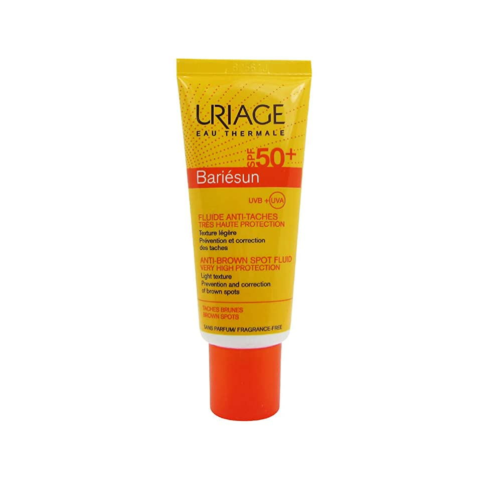 土曜日出席する物質Uriage Bariesun Anti-Stain Fluid SPF50 + 40ml