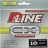 P-Line CX Premium Fluorocarbon Coated Filler Spool (300-Yard, 10-Pound, Fluorescent Green)