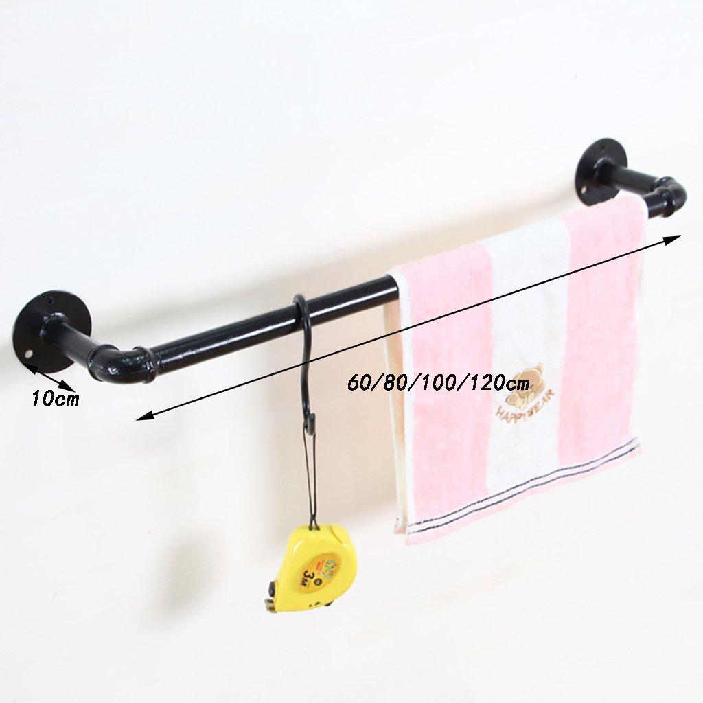 scaffalature estante decorativa industrial a viento American Retro Sombreros Para Campanas extractoras para tubos de hierro ropa hechas con antiguos a pared: Amazon.es: Hogar