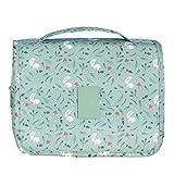 ABUKY Viaje de almacenamiento de artículos de viaje Set de sarga colgante bolsa de aseo de viaje bolsa de cosméticos puede ser universal para viajes en casa