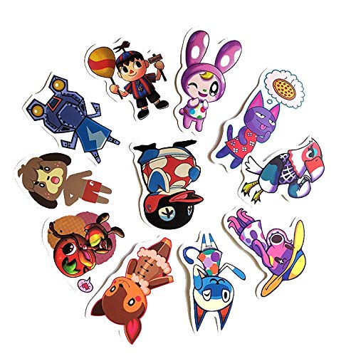 FENGLING Game Animal Crossing Cartoon Animation Sticker Forcomputer Motorcycle Skateboard Guitar Toy Game Machine Chi