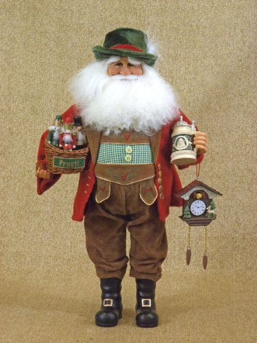 German Santa Claus Collectible Doll Figurine Karen Didion