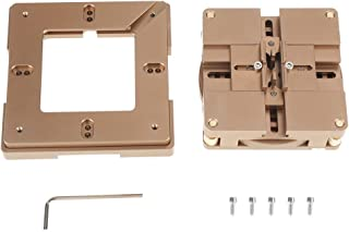 BGA Stencil Holder, HT-90X BGA Reballing Station Auto Magnet Stencil Solder Rework Kit Soldering Station Solder aid Reballing Kit