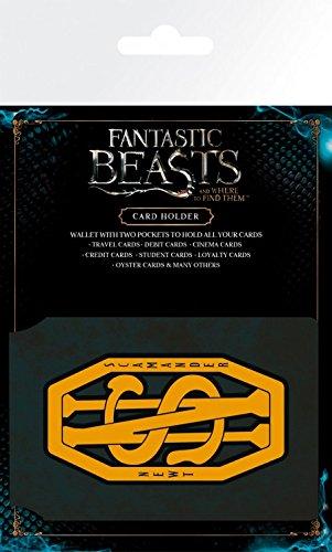 1art1 Les Animaux Fantastiques Porte-Carte Bancaire pour Fans - Newt Scamander (10 x 7 cm)