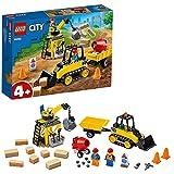 LEGO 60252 City Buldócer de Construcción Juguete de Construcción para Niños y Niñas +4 años con 2 Mini Figuras