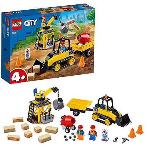 LEGO 60252 City Buldócer de Construcción Juguete de Construcción