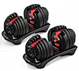 Adjustable Weight Dumbbell