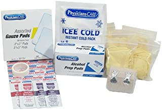 PhysiciansCare First Aid Kit Refill, Contains 127 Pieces