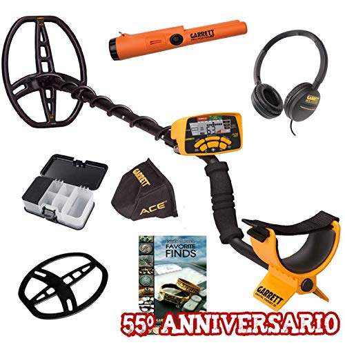 Garrett Ace 400i Pro Pointer AT Libro Box Promo 55 Anniversario Metal Detector