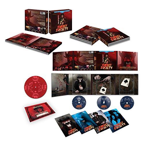Sunset Society: Edición Limitada [Blu-ray, DVD, CD, vinilo de 7 pulgadas]