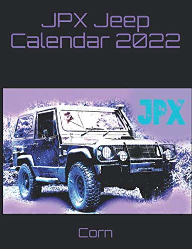 JPX Jeep Calendar 2022