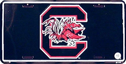 South Carolina Gamecocks NCAA License Plate