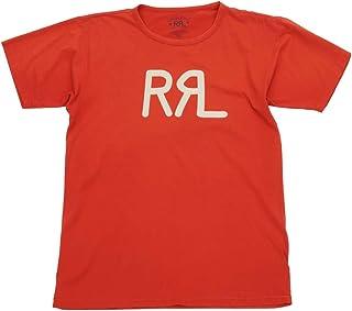 (ダブルアールエル) RRL コットン ジャージー グラフィック ロゴ Tシャツ レッド メンズ Cotton Jersey Tshirs Red 並行輸入品 [並行輸入品]