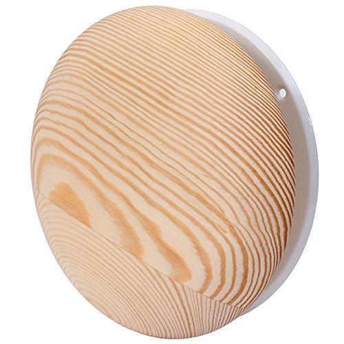 Anemostat Tellerventil Zuluft Abluft Holz Sauna Deckenventil Luftventil Metall Ø 125 mm