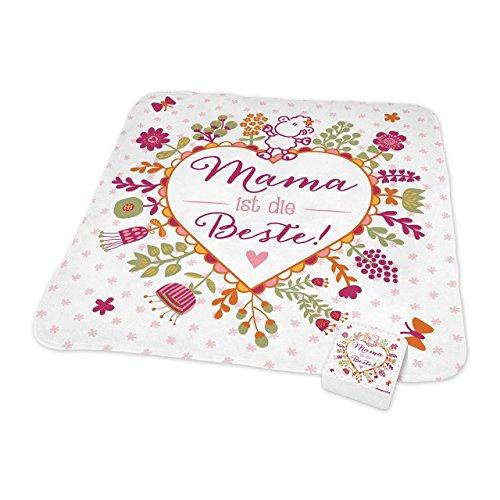 Sheepworld - 44439 - Magic Towel, Mama ist die Beste!, 30cm x 30cm, Baumwolle
