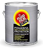 Fluid Film Black Non-Aerosol; Long Lasting Corrosion, Penetrant & Lubricant; Anti-Rust Coating, Protects All Metals in Marine and Undercoating in Automotive & Snow Handling Vehicles, 1 Gallon