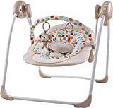 Sun Baby - Balancín eléctrico para bebé, mono