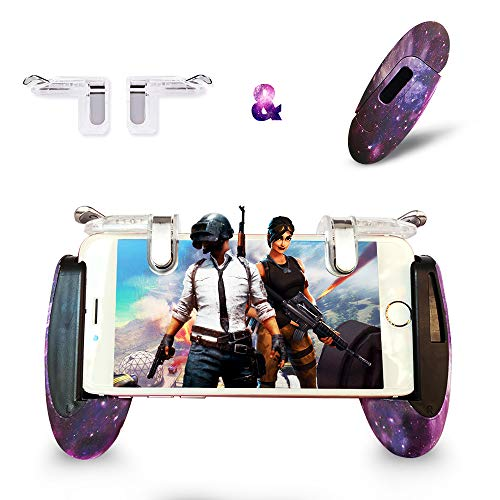 Mobile Game Controller Android Gamepad Phone Aim Controller Fight Joystick for iOS Joypad Phone Work...