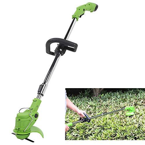 XFQ Hand Held Tosaerba rotanti, Multifunzione Grass Trimmer Regolabile Giardino Elettrico Senza cordone Lawn Mower