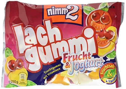 nimm2 Lachgummi Frucht & Joghurt (15 x 250g) / Fruchtgummis mit Vitaminen