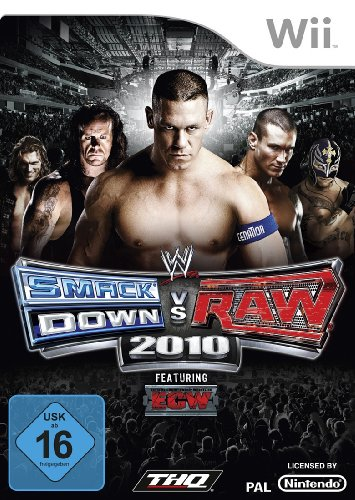 THQ WWE SmackDown vs. Raw 2010 - Juego (Nintendo Wii, Deportes, RP...
