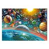 Schmidt Spiele 58176 Puzzle Weltall, 1000 Teile, bunt