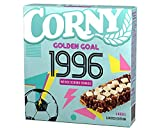 Corny Limited Edition - EM 1996 Golden Goal Weiße Schoko-Cookies, Müsliriegel, 10er Pack (10 x 138g Schachtel)