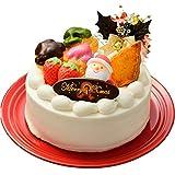 クリスマスケーキ5号(4人~6人)2020 Snow-プリンをとじこめたホワイトXmasケーキ-