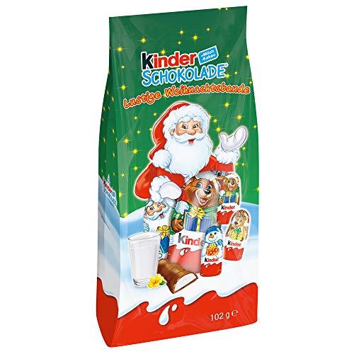 """Kinder Schokolade \""""Lustige Weihnachtsbande\"""""""