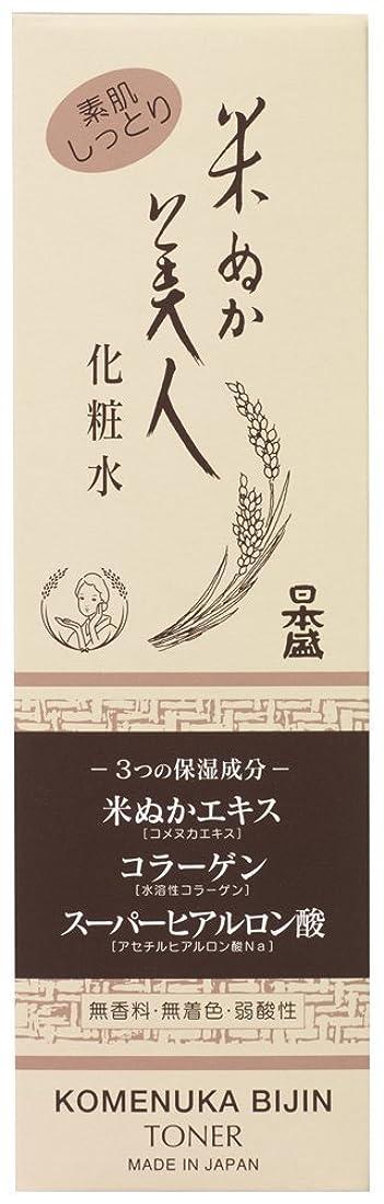ライセンス地下室シフト米ぬか美人 化粧水 120ml