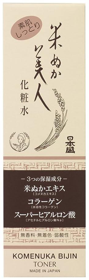 オプショナルヒット見える米ぬか美人 化粧水 120ml