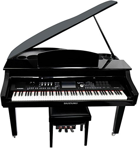 Suzuki Touch Screen Baby Grand Digital Piano (MDG-4000ts)