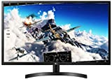 LG 32ML600M-B - Monitor PC Full HD, Compatibile HDR 10, Pannello IPS, Risoluzione 1920 x 1080, 2x HDMI, Tempo di risposta 5ms, Split Schermo (Multitasking), Nero, 32'