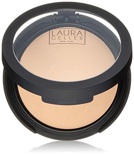 LAURA GELLER NEW YORK Double Take Baked Versatile Powder Foundation, Medium