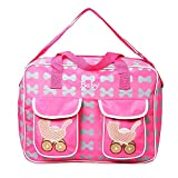 ZILANT Diaper Bag Backpack for Mom Dad,Baby Care Multi-Function Waterproof Travel Nappy Bags Fashion...