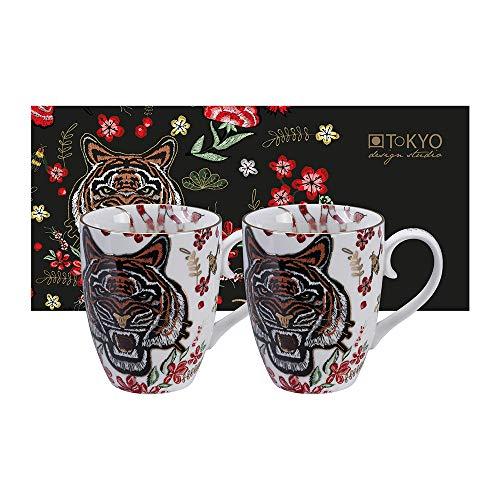 TOKYO DESIGN Studio Magical Tiger - Taza, diseño de Tigre