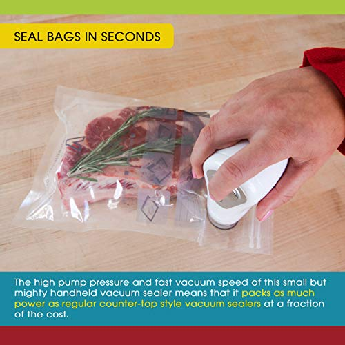 Vacuum-Sealer-by-Vesta-Precision-Handheld-Vac-n-Seal-Extends-Freshness-Fast-and-Powerful-Compact-Rechargeable-Works-with-valved-Vacuum-Bags-Bottles-and-Canisters-Black