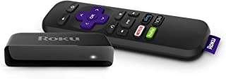 Roku Premiere | HD/4K/HDR Streaming Media Player with Simple Remote and Premium HDMI Cable (Renewed), Black