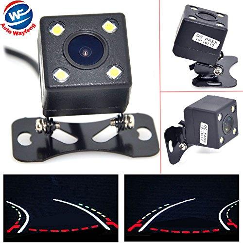 Auto Wayfeng WF® Night Vision Car Dynamic Reversing Trajectory Rearview beveiligingscamera met parkee, zelfdimbaar, 6 glazen