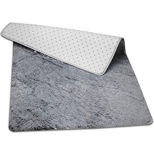 Hochflor Langflor Teppiche Teppiche für Wohnzimmer flauschig Shaggy Schlafzimmer Bettvorleger Outdoor Carpet - Wohnzimmer Teppich