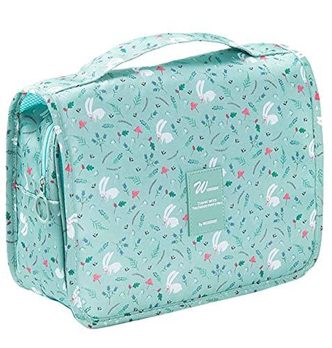 X Charmer - Bolsas de aseo para mujer, plegables, con gancho, para llevar de...