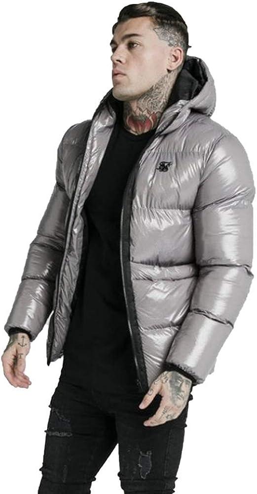 Chaqueta Siksilk Adapt Jacket Gris Acolchada