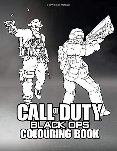 Call of Duty Colouring Book: Aim towards the Enemy | 30+ beautiful illustrations