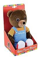 Tous les fans de Petit Ours Brun seront ravis de posséder cette peluche +/- 32 cm ! Parfaite représentation du célèbre ours en peluche toute douce, votre enfant craquera à coup sûr pour cette peluche ! Petit ours brun est un personnage connu par tous...