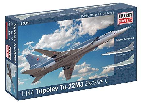 Minicraft Models Dempsey Designs Morceau modèles Echelle 1 : 144 modèle Tupolev tu-22 m3 Backfire C Kit