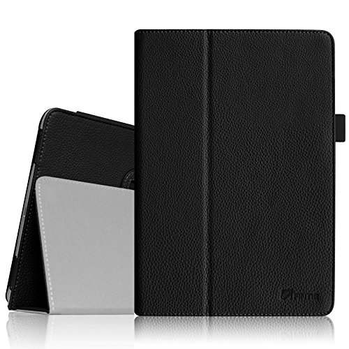 Fintie Folio Case for iPad Mini 1/2/3 - Slim Fit Case Smart Stand Cover Auto Sleep/Wake Feature for iPad Mini 1 / iPad Mini 2 / iPad Mini 3, Black
