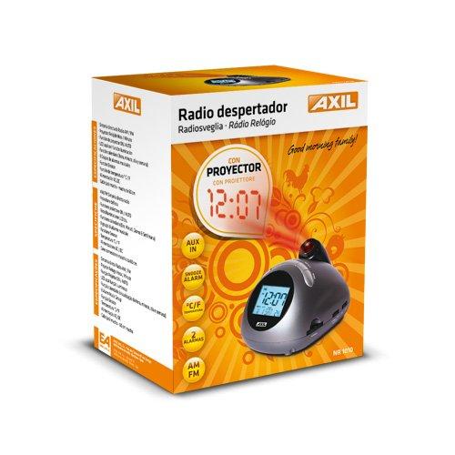 Engel NR1010 - Radiodespertador con proyector, Gris: Amazon.es ...